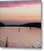 Sunset On C And D Metal Print