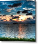 Sunset On Cedar Key Metal Print
