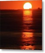 Sunset On February 26-2018 Over Barrie  Metal Print