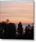 Sunset On Half Moon Bay  Metal Print