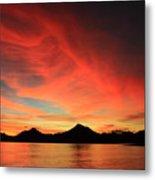 Sunset On Mahoro Metal Print