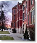 Sunset On Old Main Metal Print