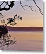 Sunset On Orcas Metal Print