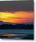 Sunset On Pei Metal Print