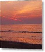 Sunset On The Gulf Metal Print