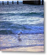 Sunset On The Gulf Metal Print