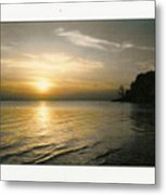 Sunset On The James Metal Print