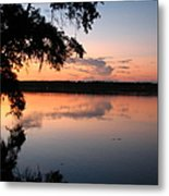 Sunset On The Ogeechee Metal Print