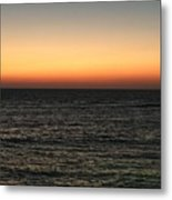 Sunset Over Ceaserea Metal Print