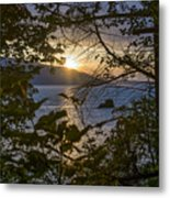 Sunset On The Sound2 Metal Print