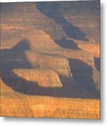 Sunset On The South Rim Of The Canyon Metal Print
