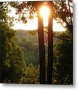 Sunset On The Trace Metal Print