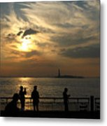Sunset On The Upper Bay Metal Print