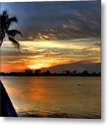 Sunset Or Sunrise Metal Print
