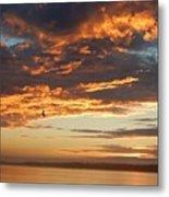 Sunset Oregon Metal Print