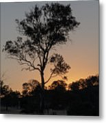 Sunset - Out In The Country Metal Print