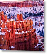 Sunset Over A Hoodoo Nation I Metal Print
