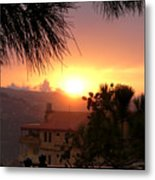 Sunset Over Bcharre, Lebanon Metal Print