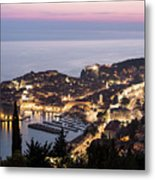 Sunset Over Dubrovnik In Croatia Metal Print
