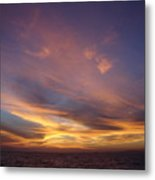 Sunset Over Island Metal Print