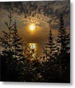 Sunrise Over Lake Huron Metal Print