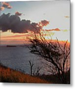 Sunset Over Lanai 2 Metal Print