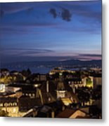 Sunset Over Lausanne   Metal Print
