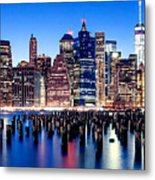 Magic Manhattan Metal Print
