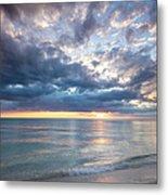 Sunset Over Naples Beach II Metal Print