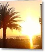 Sunset Over St Augustine Florida Metal Print