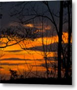 sunset over Suwanee 2010 Metal Print