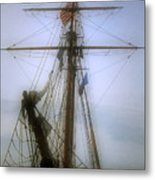 Sunset Over The Amistad Metal Print
