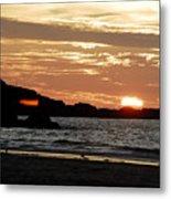 Sunset Part 3 Metal Print