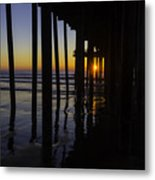 Sunset Pismo Beach Metal Print