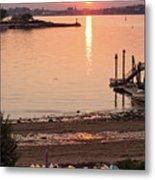 Sunset, Portland, Maine  -07817 Metal Print