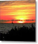 Sunset Punta Gorda Fl Metal Print