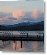 Sunset Reflecting Off Priest Lake Metal Print