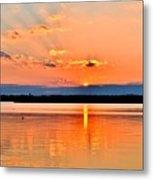 Sunset Reflections 2 Metal Print