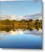 Sunset Reflections On The Lake Metal Print
