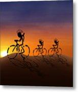 Sunset Riders Metal Print