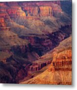 Sunset Scar Metal Print