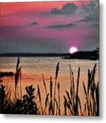 Sunset Scene Metal Print