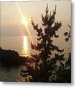 Sunset Scenic Metal Print