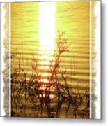 Sunset Serenade Metal Print