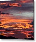 Sunset Skies 052814d Metal Print
