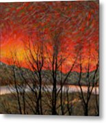 Sunset Soliloquy Metal Print