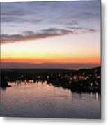 Sunset South Of The Border Metal Print