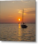 Sunset Southern Style Metal Print