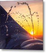 Sunset Spout 0017 Metal Print
