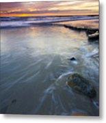 Sunset Storm Metal Print